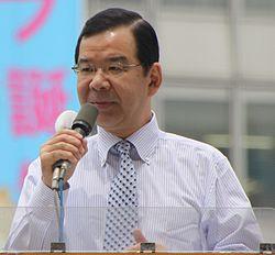 JCP chairman Kazuo Shii