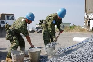 Road-building in South Sudan